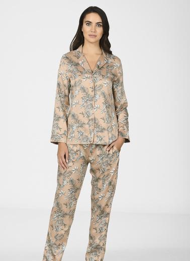 Nbb Pijama Takım Kahve